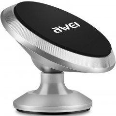 Держатель Awei X6 Silver (FSH64597)