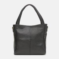 Женская сумка кожаная Borsacomoda 853023 Черная