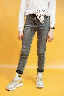 Джинси A-yugi Jeans 152 см Сірий (2125000655116)