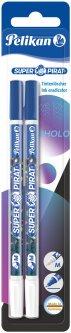 Корректор для удаления синих чернил Pelikan Super-Pirat Shine Mystic 2 шт (814676)
