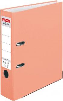 Папка-регистратор Herlitz А4 8 см Protect Salmon (50028467)