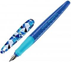 Ручка перьевая Herlitz My.Pen Wild Animals Волк Голубой корпус (50027248)