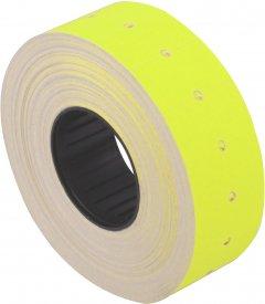 Этикет-лента Economix 21 x 12 мм 1000 шт/уп 10 рул. Желтая (E21301-05)