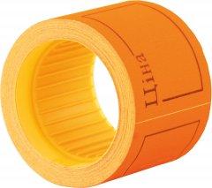 Этикет-лента Economix 50 x 40 мм 100 шт/уп 5 рул. Оранжевая (E21307-06)