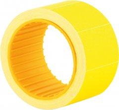 Этикет-лента Economix 30 x 20 мм 200 шт/уп 10 рул. Желтая (E21308-05)
