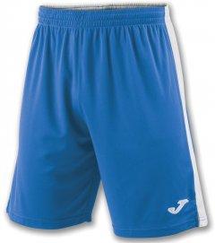 Футбольные шорты Joma Tokio II 2XS Сине-белые (100684.702_2XS)