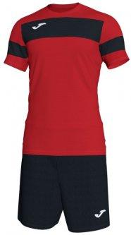 Футбольная экипировка Joma Academy II 6XS-5XS Красно-черная (101349.601_6XS-5XS)