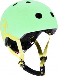Защитный детский шлем Scoot and Ride с фонариком 45-51 см Киви (XXS/XS) (SR-181206-KIWI)