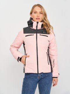 Куртка лыжная Alpine Crown ACSJ-170104-002 34 Розово-черная (2115063454740)