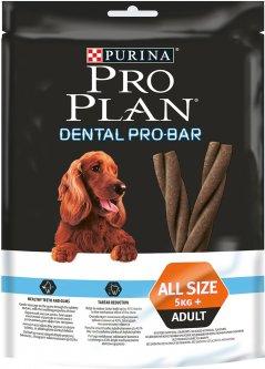 Лакомство для взрослых собак средних и больших пород Purina Pro Plan Dental Probar для поддержания здоровья полости рта 150 г (7613032846442)