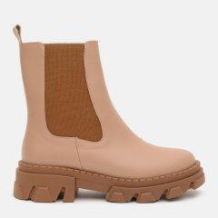 Ботинки LeoModa 2237/11 40 26 см Кремовые (2000000004297)