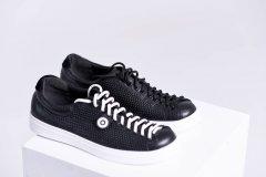 Чоловічі кеди Maya Shoes 204-3 Чорні 40р