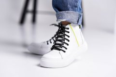 Кеди Maya Shoes 2435 Білі 38р