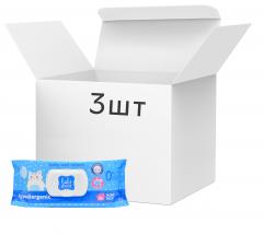 Упаковка влажных салфеток Baby Zaya гипоаллергенные 3 пачки по 84 шт (2000525704672)