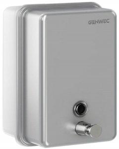 Дозатор для жидкого мыла GENWEC GW04 01 04 01 хром матовый