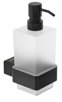 Дозатор для жидкого мыла GENWEC Pompei GW05 59 04 03 черный матовый