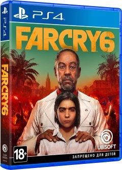 Игра Far Cry 6 для PS4 (Blu-ray диск, Russian version)