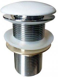 Донный клапан для раковины VOLLE 90-00-037 без перелива белый
