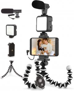Комплект блогера Piko Vlogging Kit PVK-03LM (1283126515101)