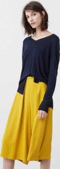 Пуловер Mango 730FI505 S Темно-синий (5000000155378)