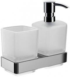 Дозатор для жидкого мыла EMCO Loft 0531 001 00 со стаканом