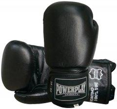 Боксерские перчатки PowerPlay 3088 18 унций Черные (PP_3088_18oz_Black)