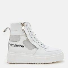 Ботинки Palmyra Ж-521-002-5110бк/бзш 38 24 см Белые (ROZ6400185831)