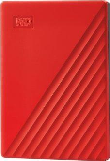 """Жесткий диск Western Digital My Passport 2TB WDBYVG0020BRD-WESN 2.5"""" USB 3.0 External Red"""