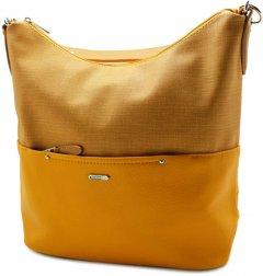 Женская сумка-мешок David Jones 7772148 желтая