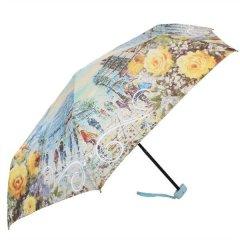 Женский компактный облегченный механический зонт LAMBERTI z73116-l1850a-0pb2