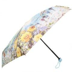 Женский компактный облегченный механический зонт LAMBERTI z75116-l1850a-0pb2