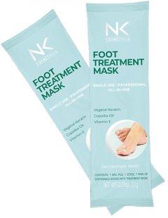 Носочки маска для ног NK Cosmeticos Foot Care Mask Экспресс педикюр лечебные 22 г (7897475801293)