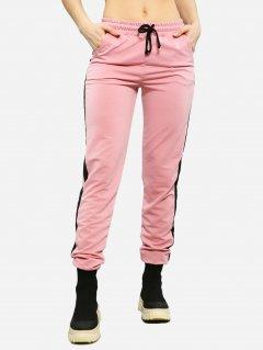 Спортивные брюки ISSA PLUS 11502 S Розовые (issa2000276034332)
