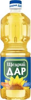 Масло подсолнечное Щедрий Дар рафинированное 850 мл (4820078575769)