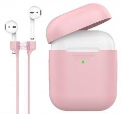 Силиконовый чехол Promate PodKit для Apple AirPods Pink (podkit.pink)