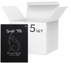 Упаковка блокнотов 4Profi Profiplan Bright Title note B6 без линовки 40 листов Cat 5 шт (902569)