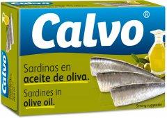 Сардины Calvo в оливковом масле 120 г (8410090441270)