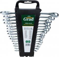Ключи рожково-накидные Grad CrV 6-22 мм 15 шт (6010965)