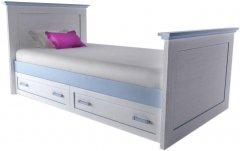 Детская кровать Aqua Rodos Voyage 90 Голубая (VG-BED-90-BLU)