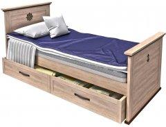 Детская кровать Aqua Rodos Skipper 120 (SK-BED-120)