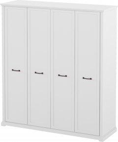 Шкаф Aqua Rodos Bianca для одежды 4-х дверный (АР000031932)