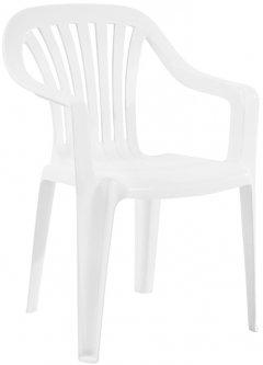 Кресло Papatya Тропик Белое (7043kmd)
