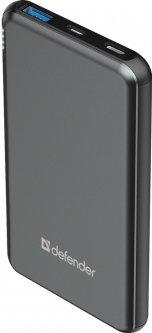 УМБ Defender ExtraLife Fast 10000D QC3.0 Type-C 10000mAh Black (83664)