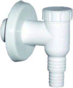Сифон наружного монтажа для стиральной машины PLAST BRNO 19-23 мм 32 мм белый (EPVP000)