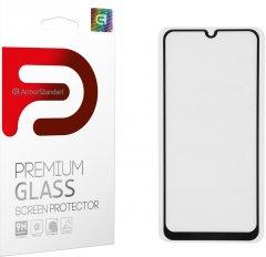 Защитное стекло Armorstandart Full Glue для Samsung Galaxy M21 (M215) Black (ARM56258-GFG-BK)