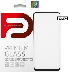 Защитное стекло ArmorStandart Pro для Xiaomi Redmi Note 9 Black (ARM56248-GPR-BK)