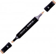 Маркер Finecolour Brush спиртовой 168 древесно-коричневый E168 (EF102-168)