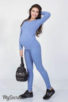 Джинси-джеггінси для майбутніх мам My Secret Pink XL Блакитний TR-18.042