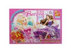 Пазл G-toys Барби 35 элементов (52519)