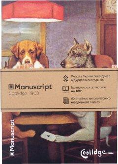 Скетчбук Manuscript Coolidge 1903 A5 Чистые 80 страниц с открытым переплетом (M - Coolidge)